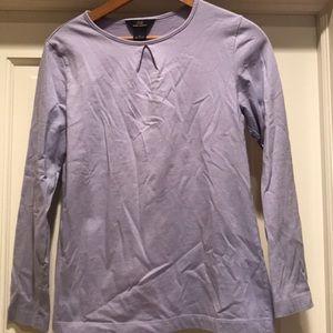 Brooks Brothers Lavender Cotton Long Sleeve Shirt